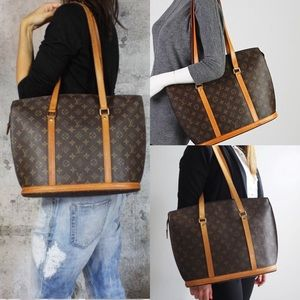 Iconic Shoulder tote by Louis Vuitton
